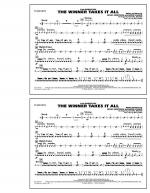 The Winner Takes It All (from Mamma Mia!) - Snare Drum Sheet Music