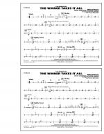 The Winner Takes It All (from Mamma Mia!) - Cymbals Sheet Music