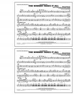 The Winner Takes It All (from Mamma Mia!) - Multiple Bass Drums Sheet Music