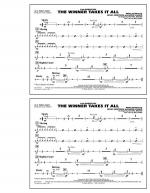 The Winner Takes It All (from Mamma Mia!) - Aux Percussion Sheet Music