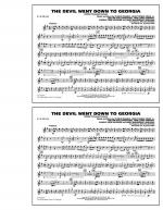 The Devil Went Down to Georgia - Eb Alto Sax Sheet Music