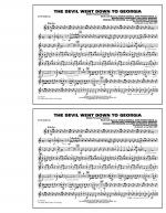 The Devil Went Down to Georgia - Bb Tenor Sax Sheet Music