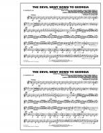 The Devil Went Down to Georgia - Eb Baritone Sax Sheet Music