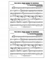 The Devil Went Down to Georgia - 1st Bb Trumpet Sheet Music