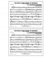 The Devil Went Down to Georgia - 3rd Bb Trumpet Sheet Music
