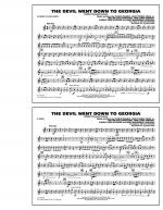 The Devil Went Down to Georgia - F Horn Sheet Music