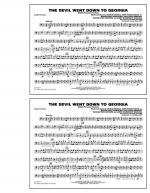 The Devil Went Down to Georgia - Baritone B.C. Sheet Music