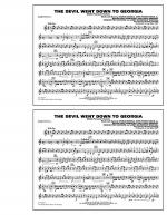 The Devil Went Down to Georgia - Baritone T.C. Sheet Music