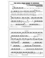 The Devil Went Down to Georgia - Snare Drum Sheet Music