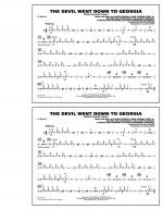 The Devil Went Down to Georgia - Cymbals Sheet Music