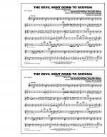The Devil Went Down to Georgia - Bb Clarinet Sheet Music