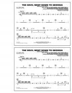 The Devil Went Down to Georgia - Aux Percussion Sheet Music