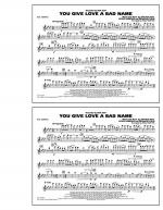You Give Love a Bad Name - Flute/Piccolo Sheet Music