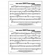 You Give Love a Bad Name - Bb Tenor Sax Sheet Music