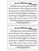 You Give Love a Bad Name - 1st Bb Trumpet Sheet Music