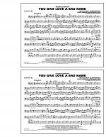 You Give Love a Bad Name - Baritone B.C. Sheet Music