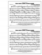 You Give Love a Bad Name - Baritone T.C. Sheet Music