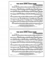 You Give Love a Bad Name - Tuba Sheet Music