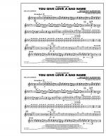 You Give Love a Bad Name - Bells/Xylophone Sheet Music