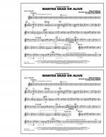 Wanted Dead or Alive - 2nd Bb Trumpet Sheet Music