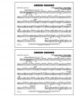 Green Onions - Baritone B.C. (Opt. Tbn. 2) Sheet Music