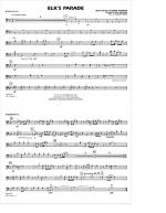 Elk's Parade - Baritone B.C. Sheet Music
