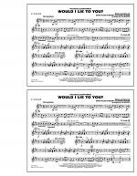 Would I Lie to You? - Eb Alto Sax Sheet Music