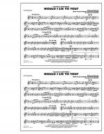 Would I Lie to You? - Bb Tenor Sax Sheet Music