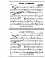 Would I Lie to You? - F Horn Sheet Music