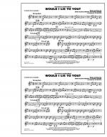 Would I Lie to You? - Bb Horn/Flugelhorn Sheet Music