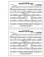 Would I Lie to You? - 2nd Trombone Sheet Music