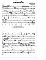 Malaguena - Multiple Bass Drums Sheet Music