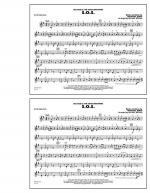 S.O.S. - Bb Tenor Sax Sheet Music
