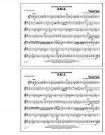 S.O.S. - Eb Baritone Sax Sheet Music