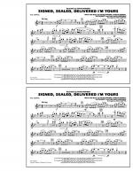 Signed, Sealed, Delivered I'm Yours - Flute/Piccolo Sheet Music