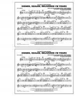 Signed, Sealed, Delivered I'm Yours - Bb Clarinet Sheet Music