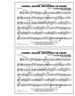 Signed, Sealed, Delivered I'm Yours - Eb Alto Sax Sheet Music