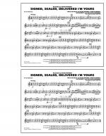 Signed, Sealed, Delivered I'm Yours - Bb Tenor Sax Sheet Music