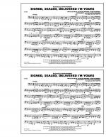 Signed, Sealed, Delivered I'm Yours - Tuba Sheet Music