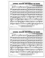 Signed, Sealed, Delivered I'm Yours - Xylophone Sheet Music