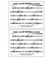 Signed, Sealed, Delivered I'm Yours - Multiple Bass Drums Sheet Music