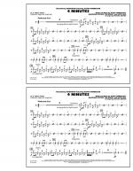 4 Minutes - Aux Percussion Sheet Music