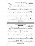 We Rock (from Disney's Camp Rock) - Cymbals Sheet Music