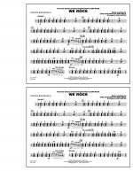 We Rock (from Disney's Camp Rock) - Multiple Bass Drums Sheet Music