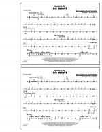 So What - Snare Drum Sheet Music