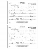 So What - Cymbals Sheet Music
