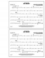 So What - Aux Percussion Sheet Music