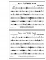 Theme from The A-Team - Multiple Bass Drums Sheet Music