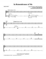 In Remembrance Of Me - Percussion Sheet Music