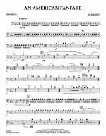 An American Fanfare - Trombone 1 Sheet Music